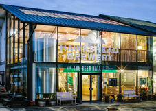 The Beer Hall at Hawkshead Brewery