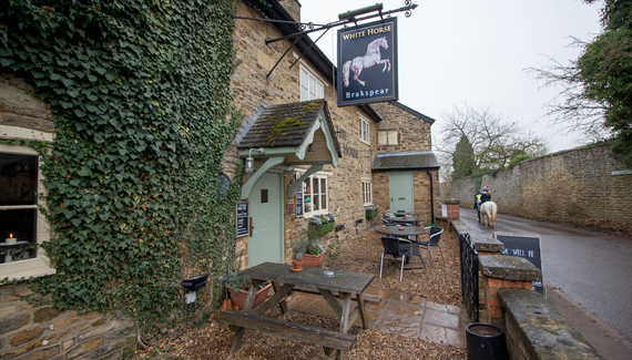 The White Horse - Gallery