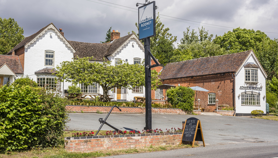 The Admiral Rodney at Berrow Green - Gallery