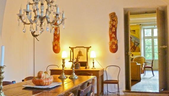 Ch teau de fontblach re sawday 39 s - Petite salle a manger ...