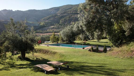 La almunia del valle sawday 39 s for Piscinas merino
