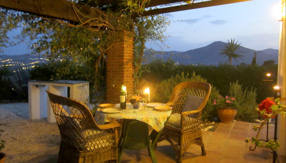 Casa limones los olivos self catering houses in m laga alastair sawday 39 s special places to - Casa plus malaga ...
